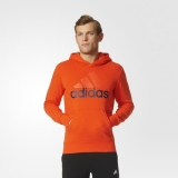 Adidas mikina Ess LINEAR ALLOVER HOODY S98773