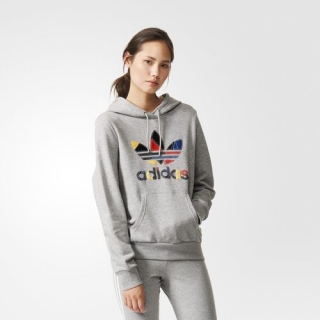 ADIDAS mikina COLORED TREFOIL hoody AB2188