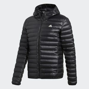ADIDAS pánska bunda Varilite Hooded Down BQ7782