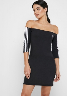 ADIDAS šaty Off-the Shoulder ED7521